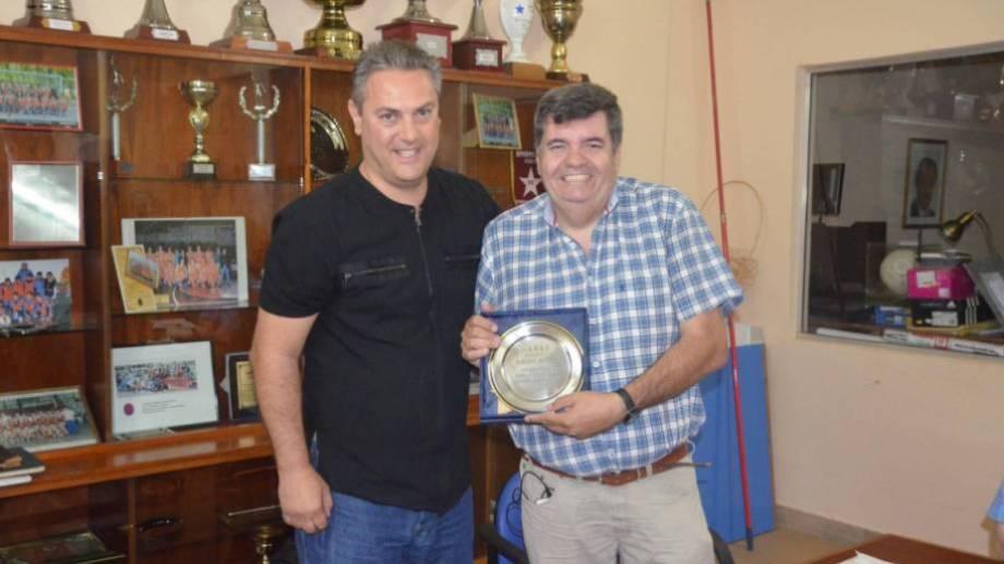 Juan Pablo Andreotti (izquierda) continuará al mando de la Asociación. (foto: Archivo)