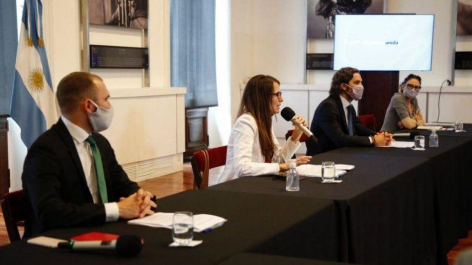 El gabinete económico se reunió este miércoles. Foto: Casa Rosada.-
