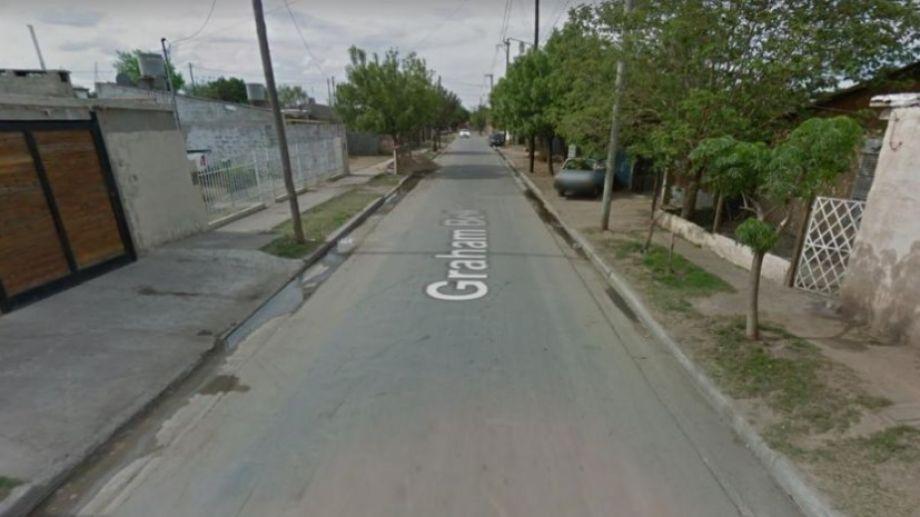 El sitio donde ocurrió el hecho, en la capital cordobesa. Foto: gentileza La Voz.-
