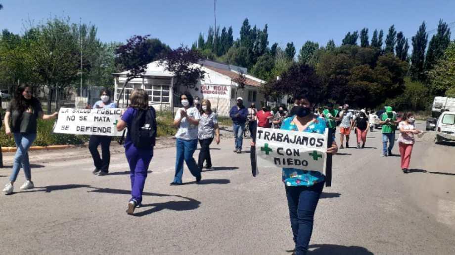 Conmoción en Campo Graden por el ataque al médico (Gentileza)