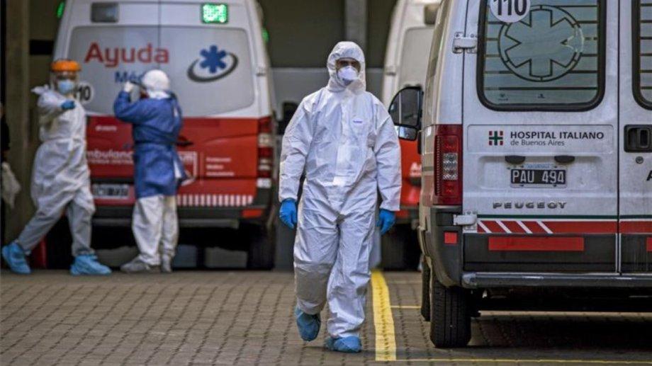 Argentina superó a Rusia en la cantidad de muertos por coronavirus.
