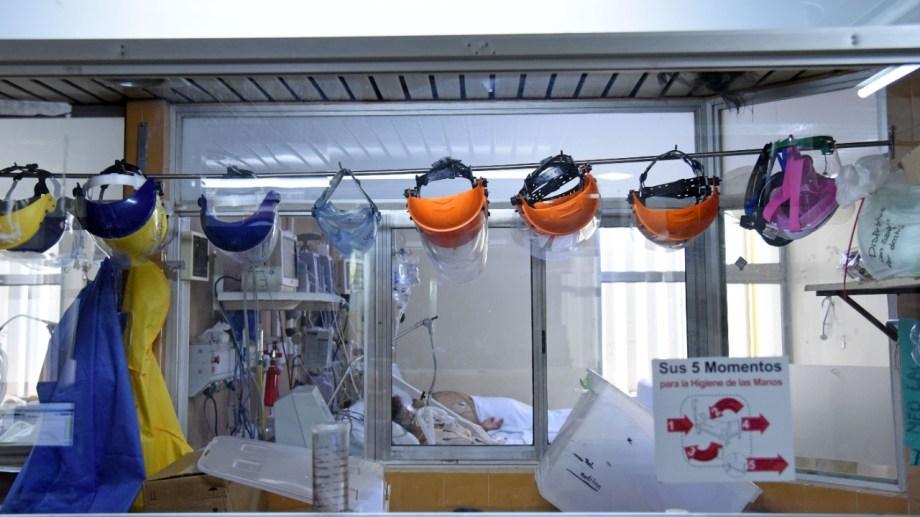 Los hospitales están al límite. (Florencia Salto)