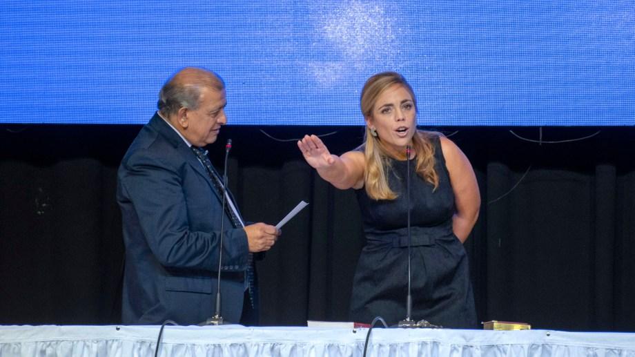 Juan Garabito reemplazará a María Emilia Soria al frente del Ejecutivo. Será hasta el 12 de octubre. (foto archivo)