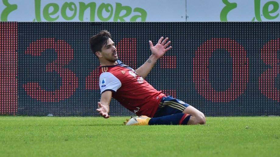 El delantero del Cagliari lleva cuatro goles en cinco partidos. (Alessandro Tocco/LaPresse via AP) Italy Soccer Serie A