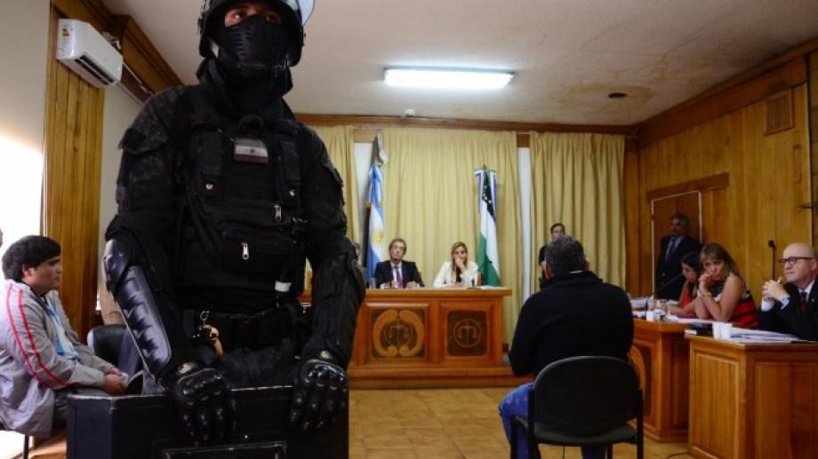 El juicio a los autores del crimen se hizo en diciembre de 2017 en Bariloche, cuando Tecas Vera estaba prófugo. (foto archivo)