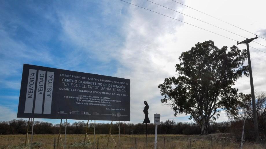 El cenro clandestino de Bahia Blanca funcionó en el predio del V Cuerpo del Ejército (foto archivo Rio Negro)