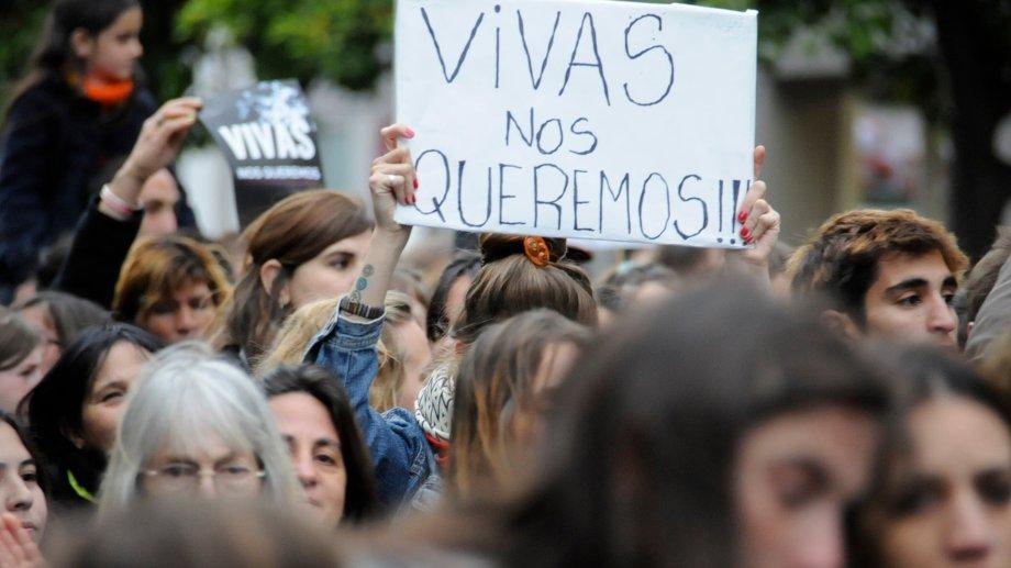 Uno de los reclamos más fuertes en las marchas feministas. (Archivo)