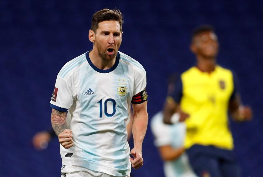 Argentina le ganó por la mínima a Ecuador con gol de Messi