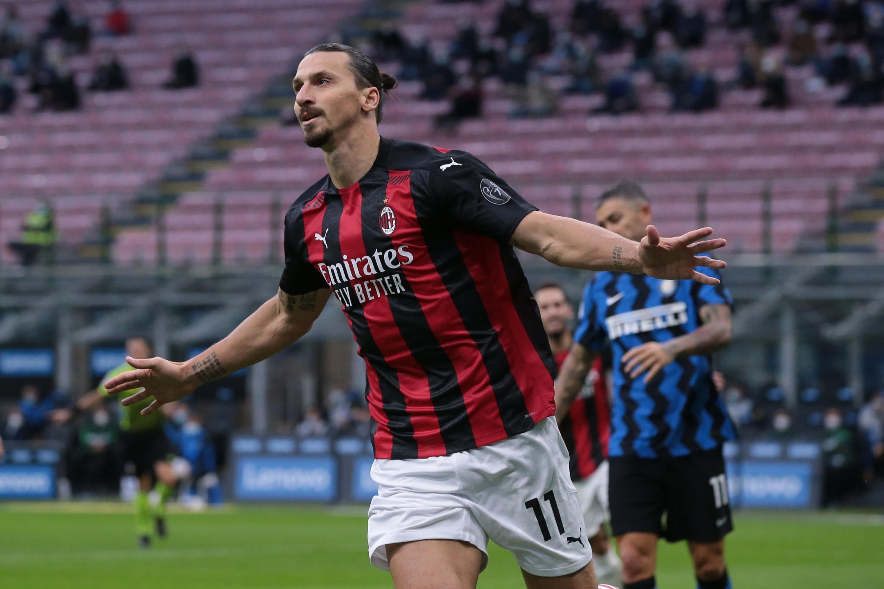 Por el doblete de Zlatan en el clásico, Milan es líder en Italia: mirá los  goles