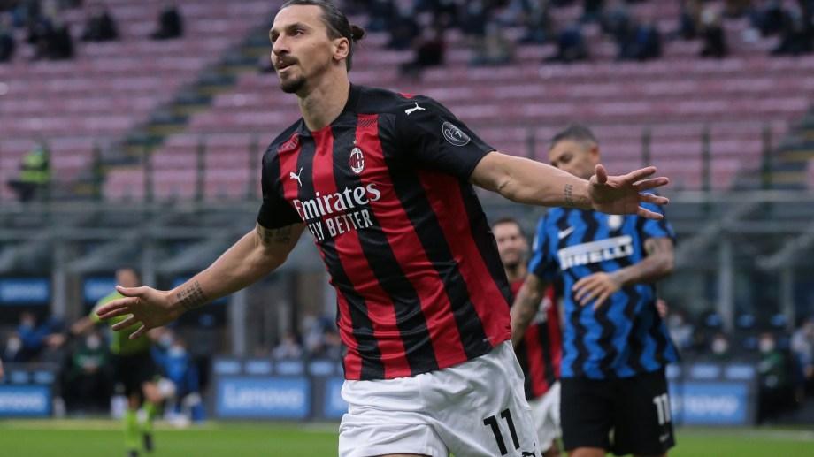 Milan es puntero del Calcio de Italia tras los goles de Ibrahimovic en el clásico.