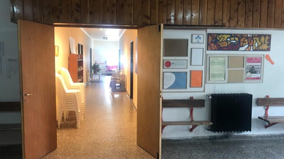 La sala de Cuidados Paliativos funciona en el hospital de Bariloche desde 2013. Foto: gentileza