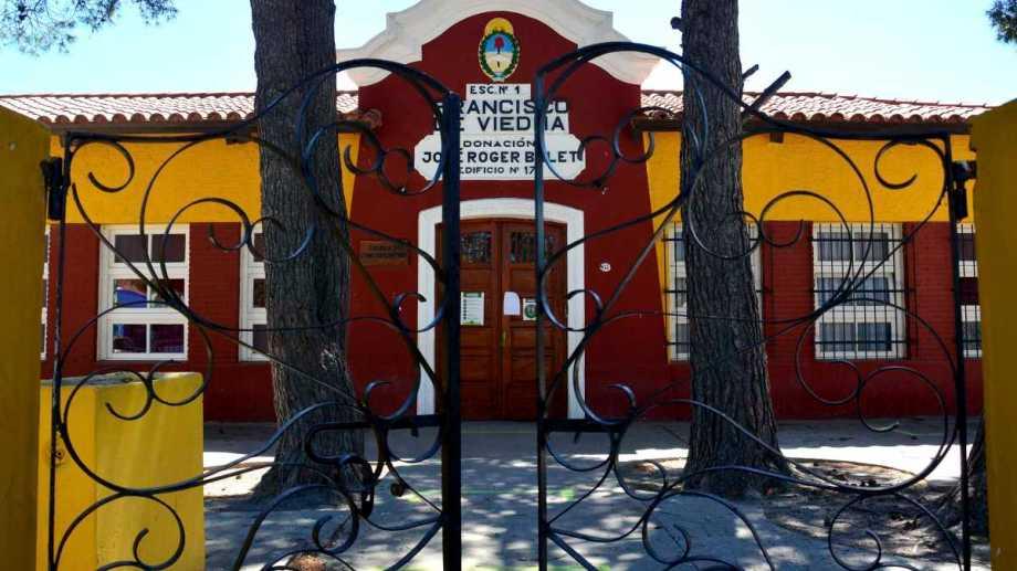 Anunciaron que el 18 de diciembre finalizaría el ciclo escolar en Río Negro. Foto : Marcelo Ochoa