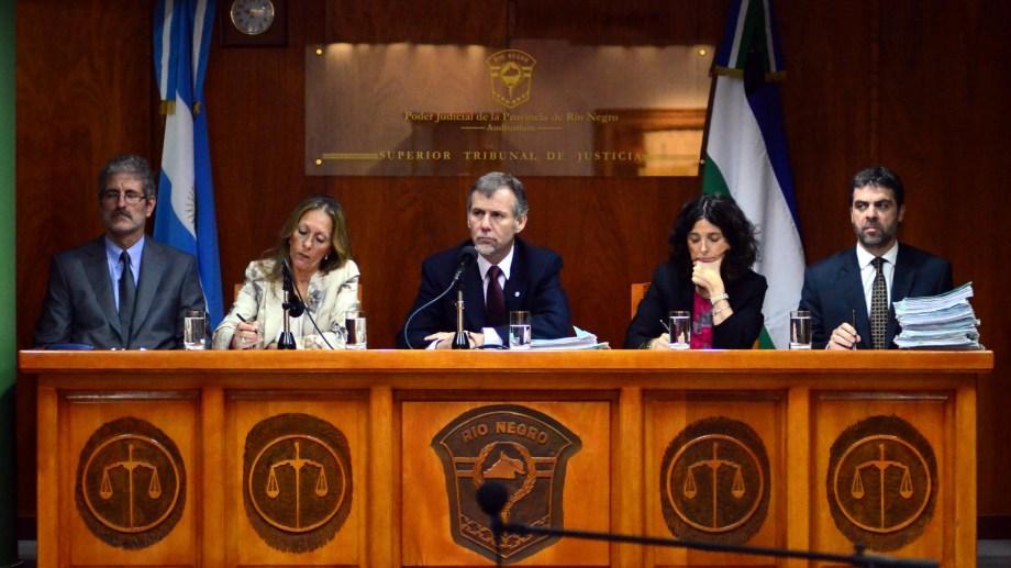 Los integrantes del STJ cobrarán el incremento desde 2021. Foto: Marcelo Ochoa