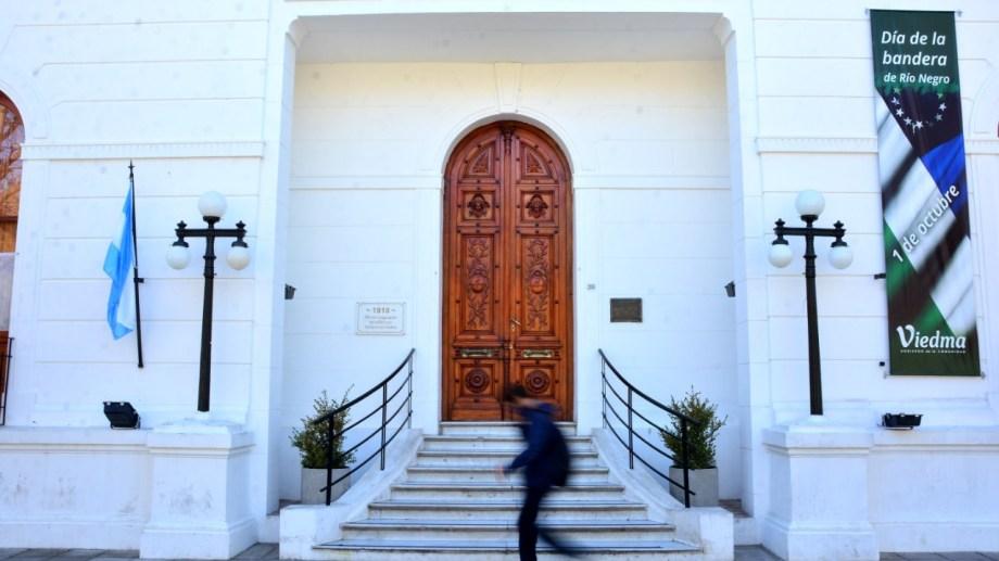 La sede municipal permanecerá cerrada hasta el 18 de octubre. Fotos: Marcelo Ochoa