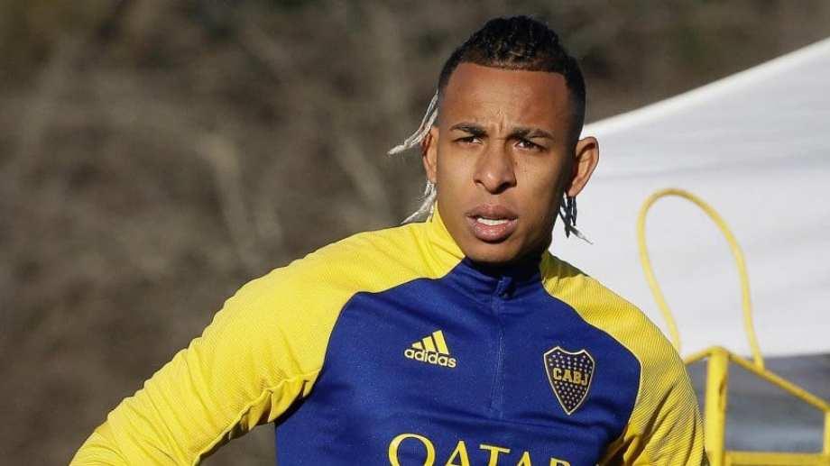 Sebastián Villa volvió a jugar un amistoso con Boca.