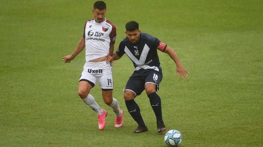 El Rojo extrañó el habitual aporte goleador de Silvio Romero. (Foto/Télam)