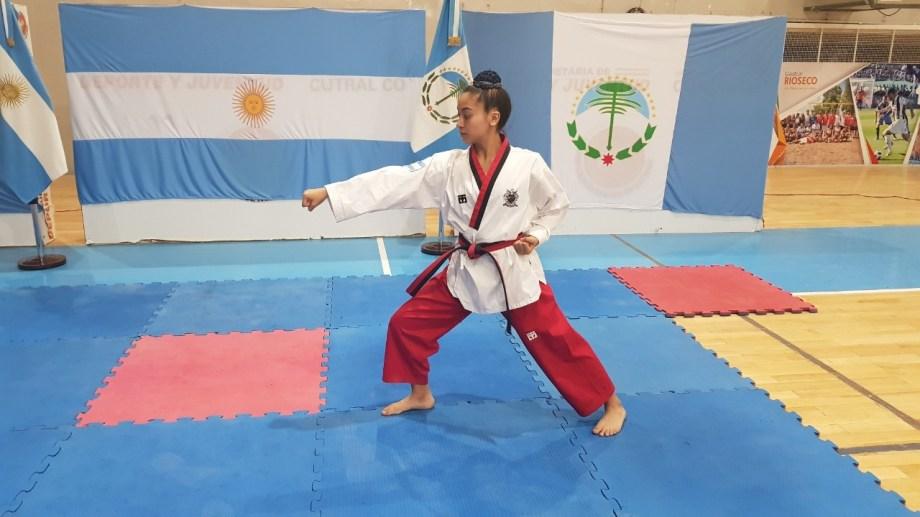 La joven cutralquense venía de ser 14° en el Mundial. de la disciplina.