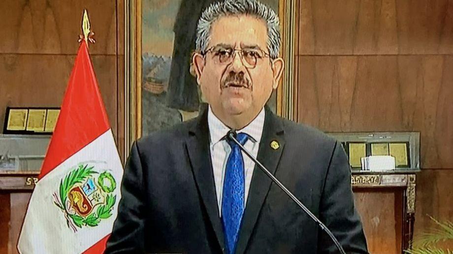 Los jefes del parlamento le habían pedido su salida a Merino. Foto: AFP.-