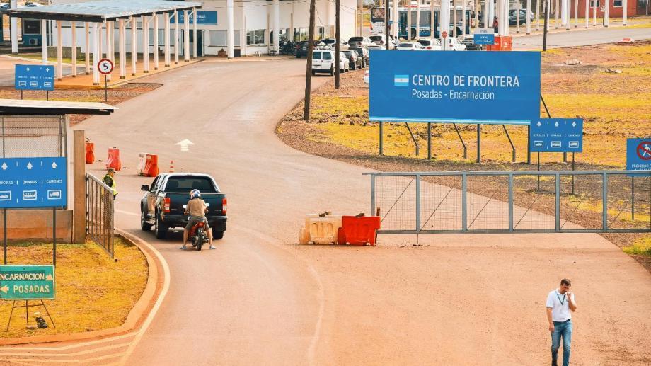 Incrementaron los controles en la frontera Encarnación - Posadas.