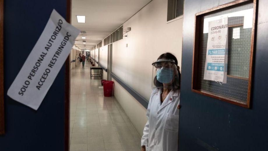 Área Covid del hospital Alberto Balestrini de La Matanza.