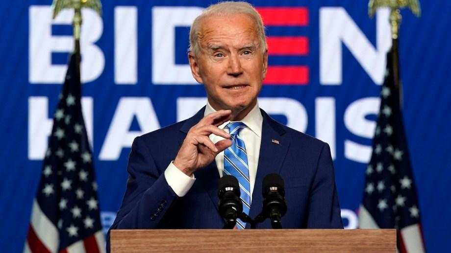 Las primeras declaraciones de Biden fueron a través de Twitter. (Foto: AP)