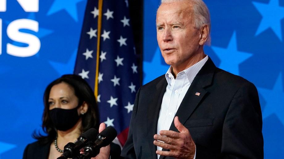 Biden está muy cerca de ser el presidente electo. (Foto: AP)