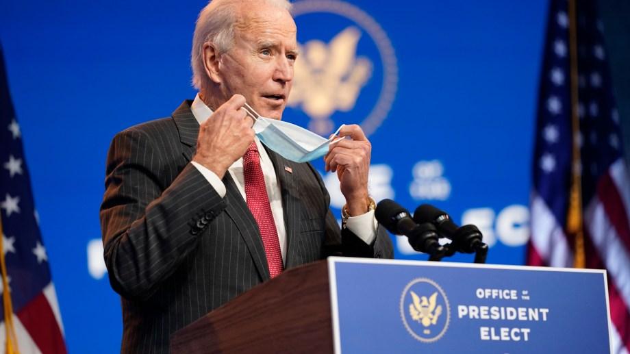 Biden apuntó directamente contra Donald Trump. (Foto: AP)