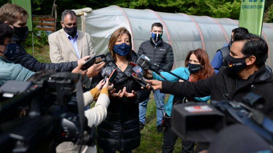 Los médicos protestan nuevamente en Bariloche por la recomposición salarial. Foto: Alfredo Leiva