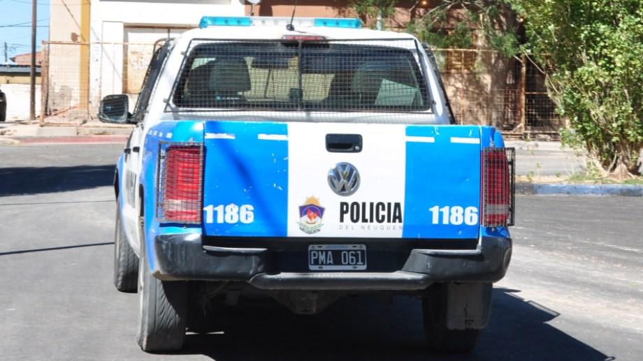 El robo ocurrió en un sector donde se realiza una obra. Archivo Juan Thomes