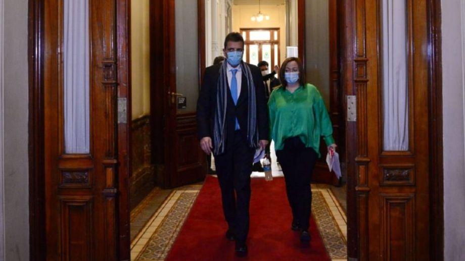 Sergio Massa y Cecilia Moreau encabezaron el encuentro. Foto: gentileza El Parlamentario.-