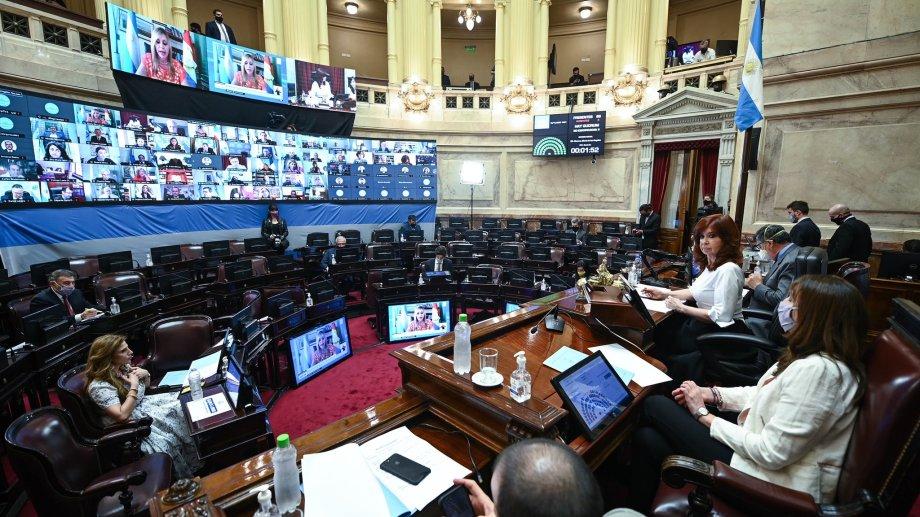 El Senado hizo cambios en el proyecto del Poder Ejecutivo.