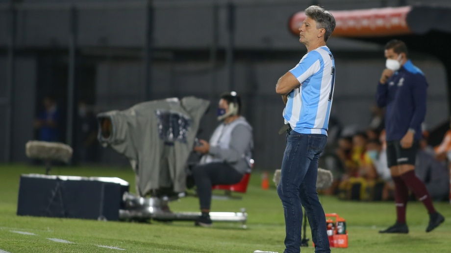 El técnico de Gremio demostró que Maradona trasciende fronteras. (Foto: @Libertadores)