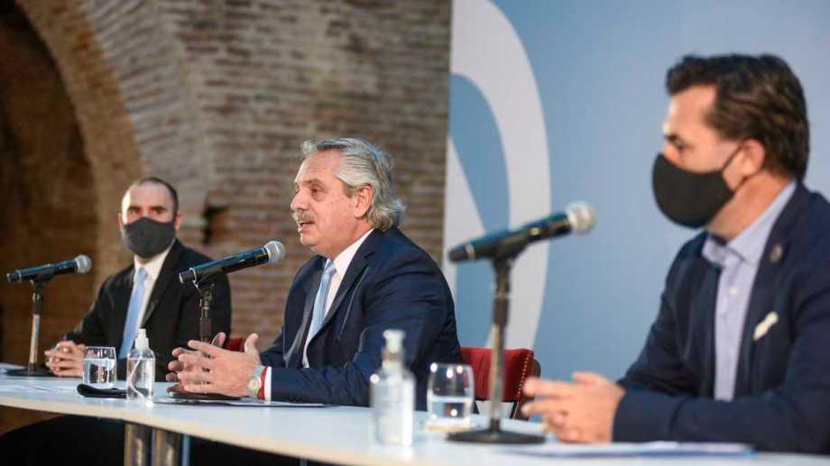 La industria petrolera respaldó el lanzamiento del Plan gas 4. Foto: Gentileza