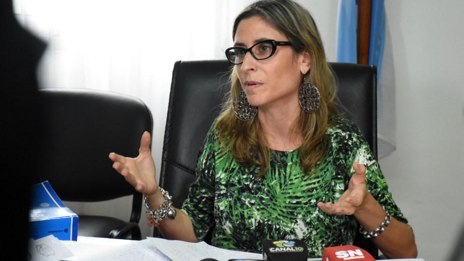 Florencia Caruso, la jueza cipoleña que llevó adelante el debate.