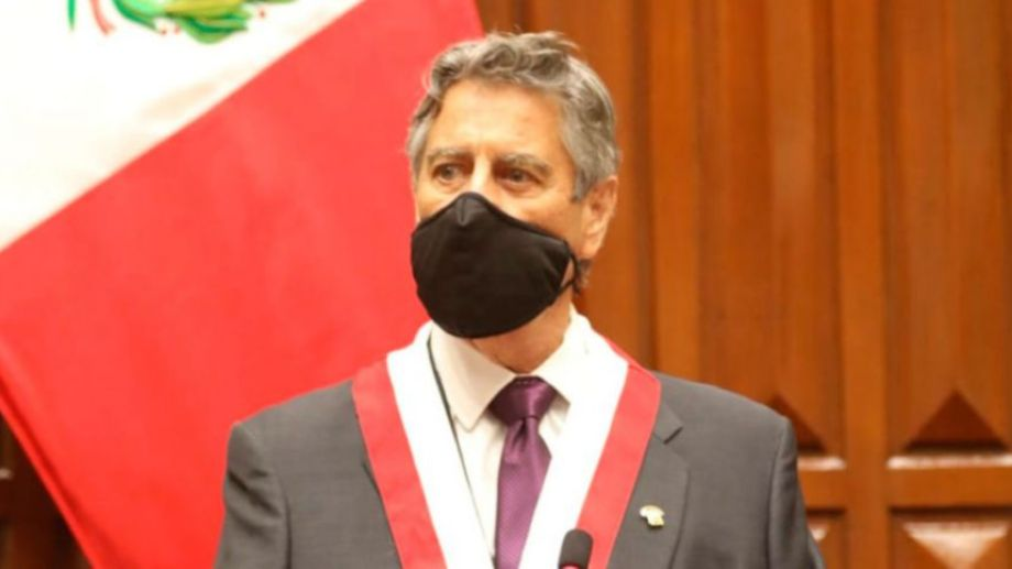 Sagasti representa al Partido Morado y llegó al Congreso en marzo último.-