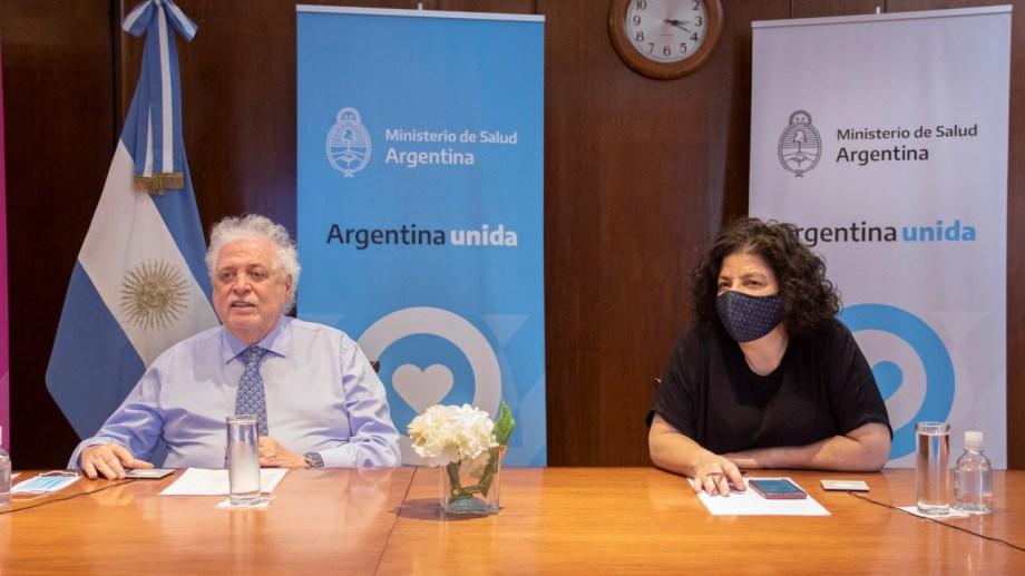 Muchas dosis y cuanto antes. El Ministro de Salud de la Nación, Ginés González García, y la viceministra Carla Vizzotti, dijeron que quieren tener la mayor cantidad de dosis de vacunas cuando pasen los procesos de evaluación