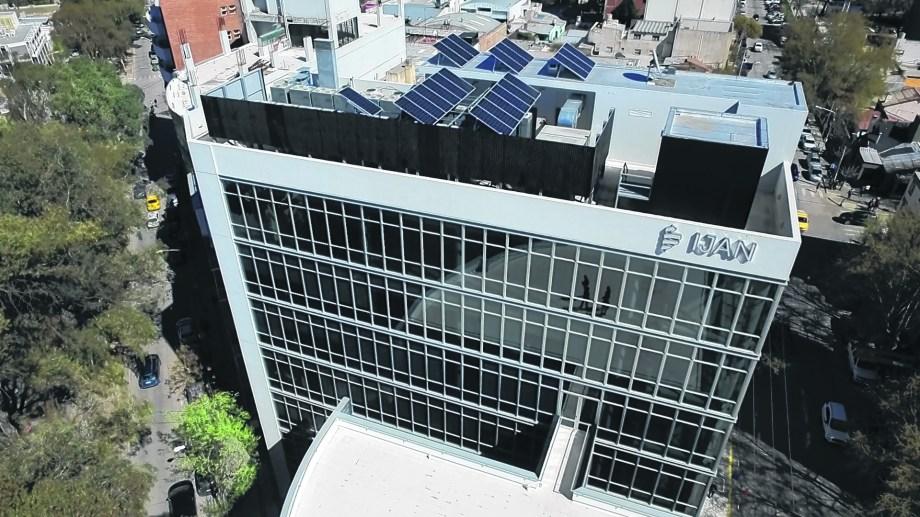 La nueva sede del IJAN en Neuquén.  Foto: Archivo