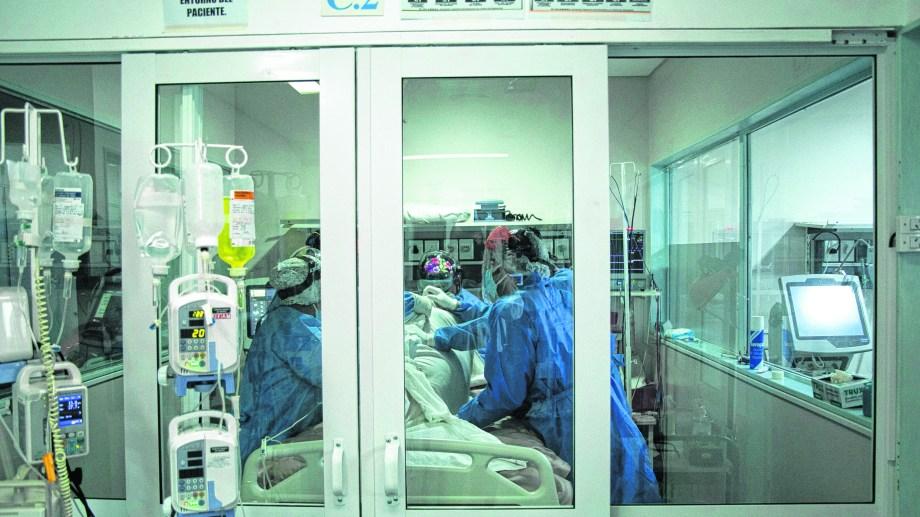 El total de contagios en Viedma es de 2.326 desde que se inició la pandemia en Viedma. Foto: Pablo Leguizamon