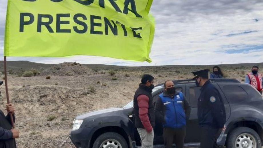 La medida se desarrolló en forma pacífica. Foto: José Mellado.