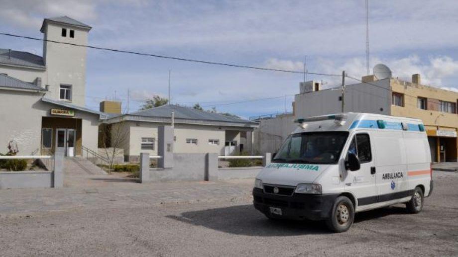 Desde hace más de un mes, el hospital de Jacobacci no  tiene disponibilidad para internación de pacientes con coronavirus. Foto: José Mellado.