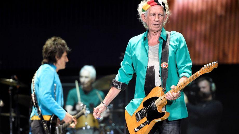 "Keith Richards acaba de editar su disco ""Live at the Hollywood Palladium''."