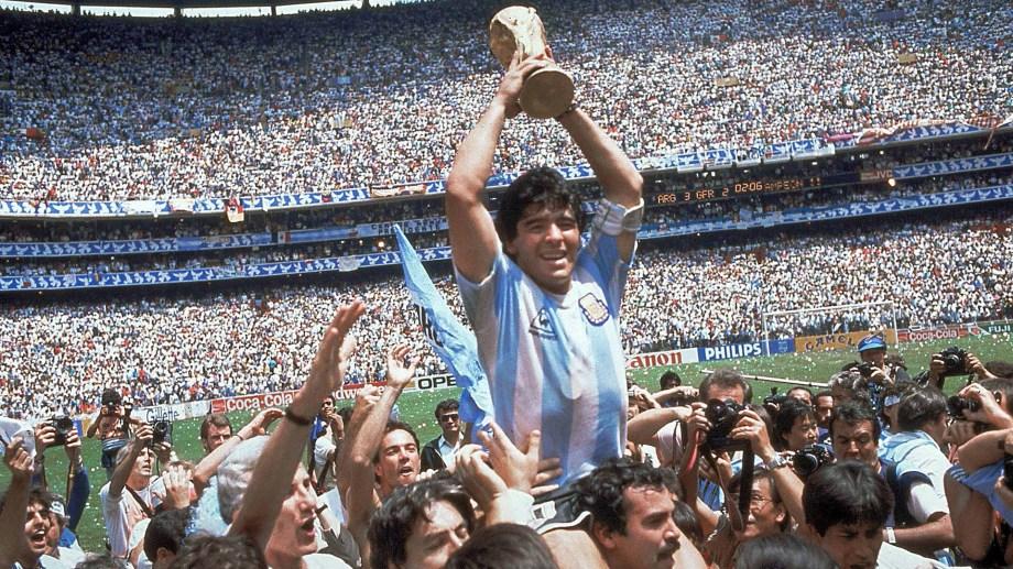 El Mundial '86 convirtió a Maradona en leyenda.