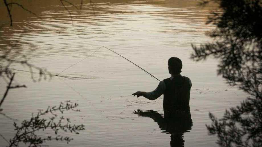 La pesca deportiva en Neuquén. Foto: Patricio Rodríguez