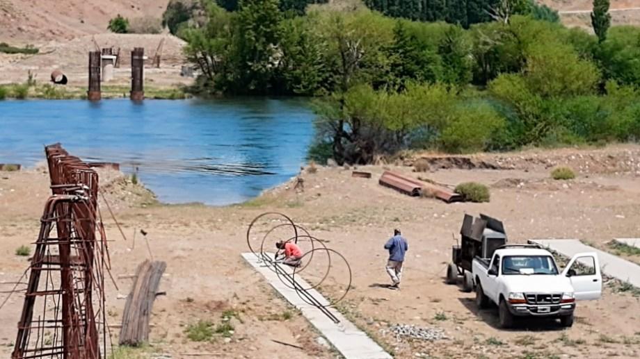 Retomaron las tareas del nuevo puente de la Rinconada. Foto: Prensa de Gobierno