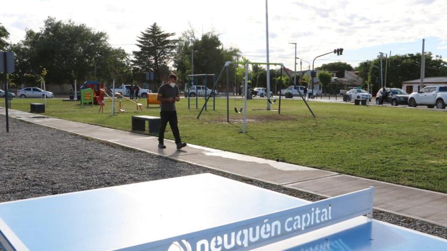 De microbasural a plaza en Rodhe y Belgrano