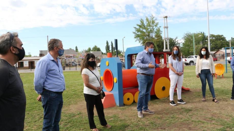 El intendente Mariano Gaido y la presidenta del Concejo, Claudia Argumero, llevaron a cabo la inauturación hoy por la mañana
