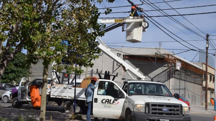 Desde CALF informaron que recorren la línea en busca del desperfecto. (Foto ilustrativa de archivo)
