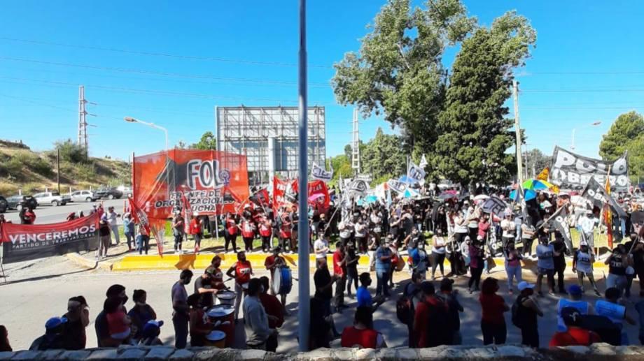 Un acto de las organizaciones puso fin al corte de los puentes (Polo Obrero)