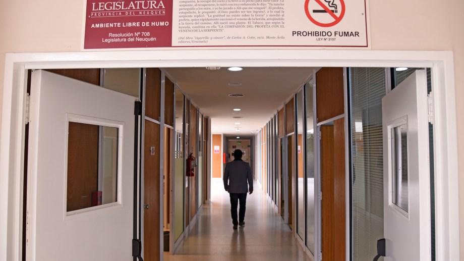 Buena parte del trabajo legislativo se reconvirtió a modo remoto durante el 2020. Foto: archivo Florencia Salto.