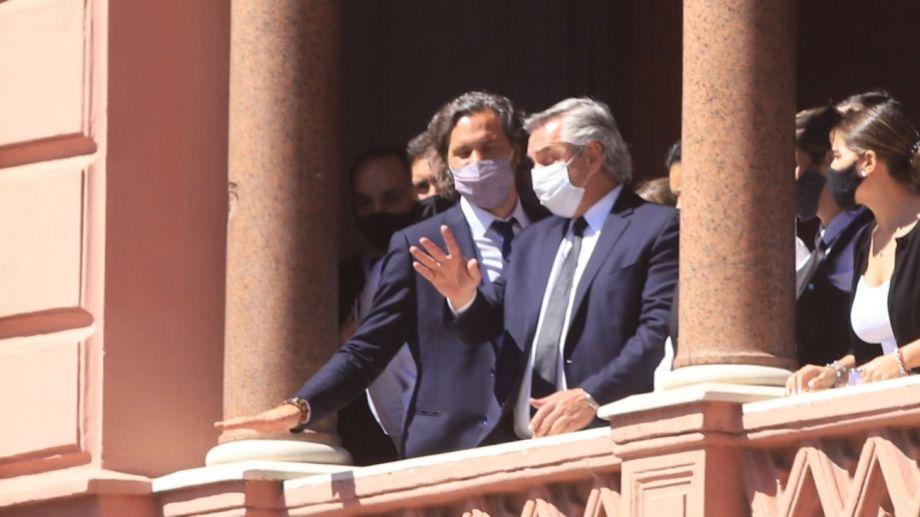 El presidente fue criticado por la oposición por el operativo del velatorio de Diego.